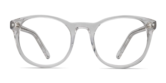 Primrose Clear Acetate Eyeglass Frames from EyeBuyDirect
