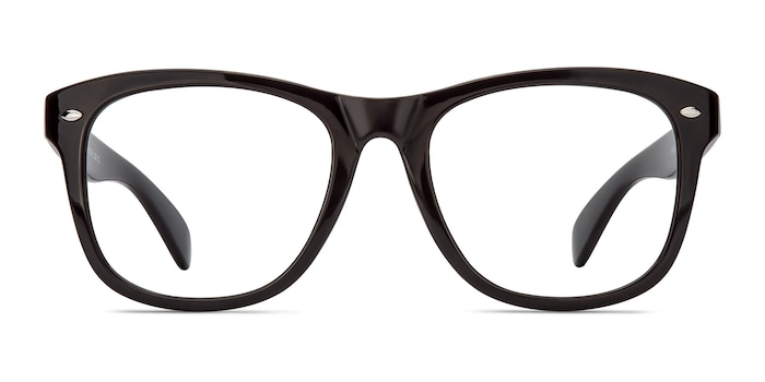 Myrtle Purple Plastic Eyeglass Frames from EyeBuyDirect