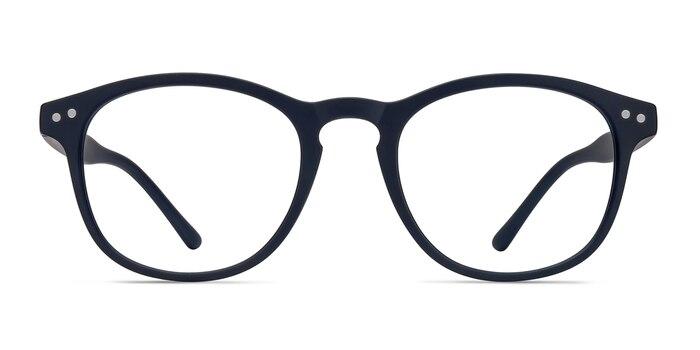 Instant Crush Matte Navy Plastique Montures de Lunette de vue d'EyeBuyDirect