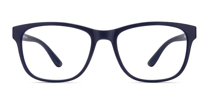 Milo Matte Navy Plastique Montures de Lunette de vue d'EyeBuyDirect
