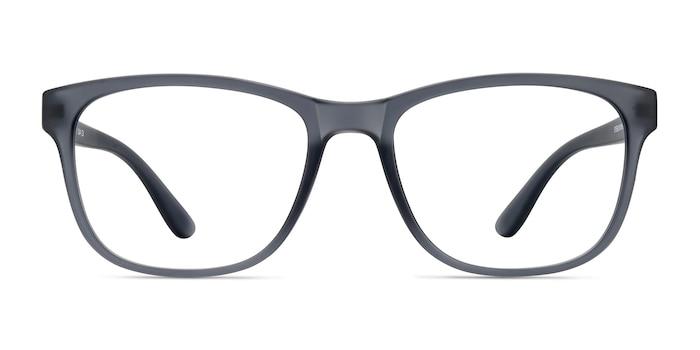 Milo Matte Gray Plastic Eyeglass Frames from EyeBuyDirect