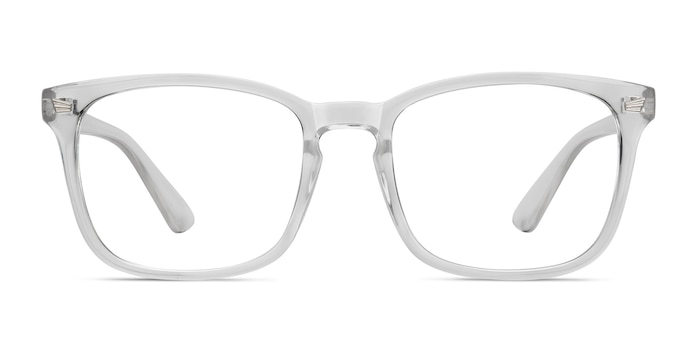 Uptown Clear Plastic Eyeglass Frames from EyeBuyDirect