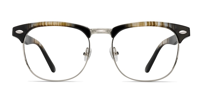 Coexist Striped Plastic-metal Eyeglass Frames from EyeBuyDirect