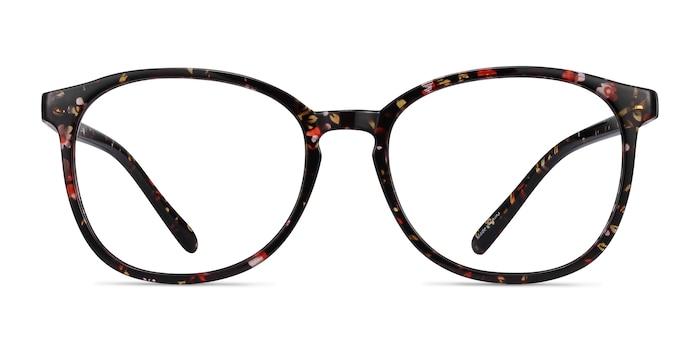 Dutchess Floral Plastic Eyeglass Frames from EyeBuyDirect