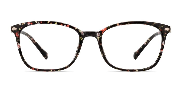 Nola Pink Floral Plastic Eyeglass Frames from EyeBuyDirect