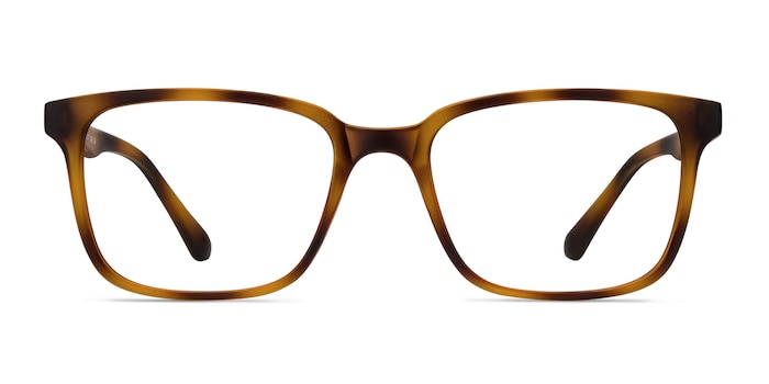 November Tortoise Plastic Eyeglass Frames from EyeBuyDirect