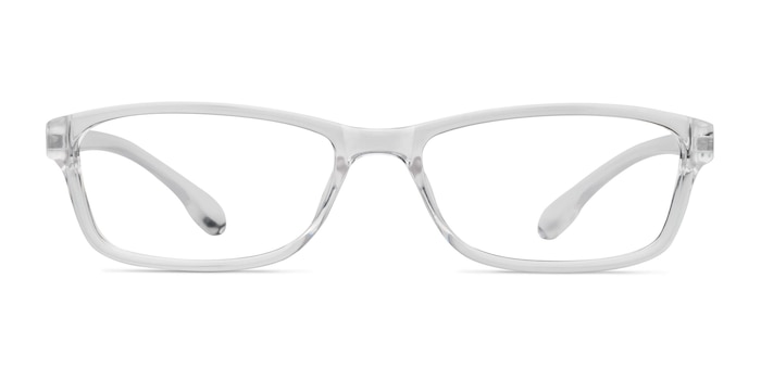 Versus Clear Plastic Eyeglass Frames from EyeBuyDirect