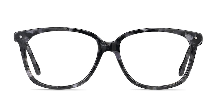 Escape Marbled Gray Acetate Eyeglass Frames from EyeBuyDirect