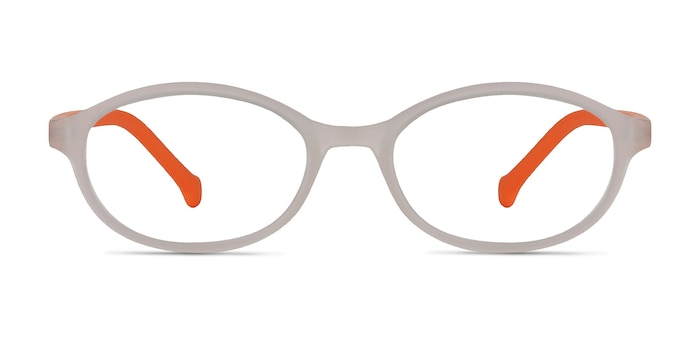 Skipper Matte Clear Plastic Eyeglass Frames from EyeBuyDirect