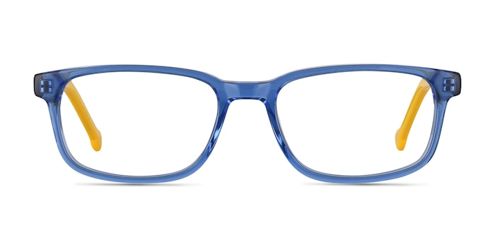 Totes Blue Clear Acetate Eyeglass Frames from EyeBuyDirect