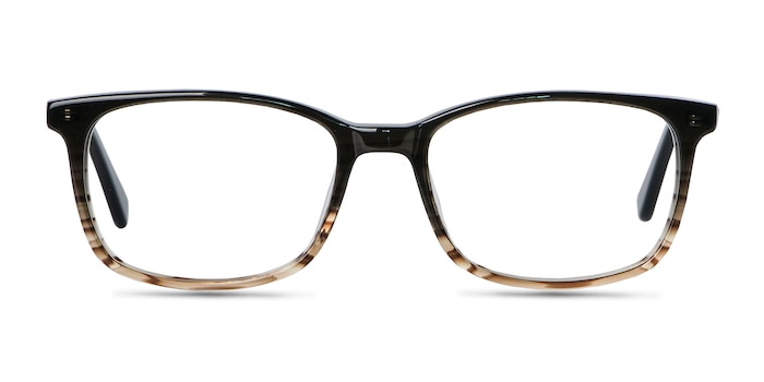 Botanist Gray Brown Acetate Eyeglass Frames from EyeBuyDirect