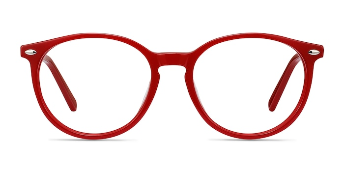 Blink Red Acetate Eyeglass Frames from EyeBuyDirect