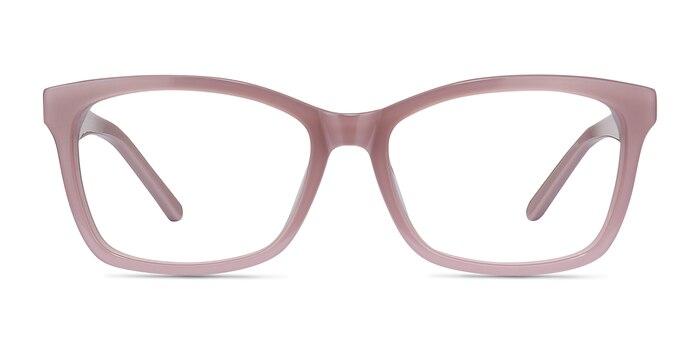 Mode Matte Pink Acetate Eyeglass Frames from EyeBuyDirect