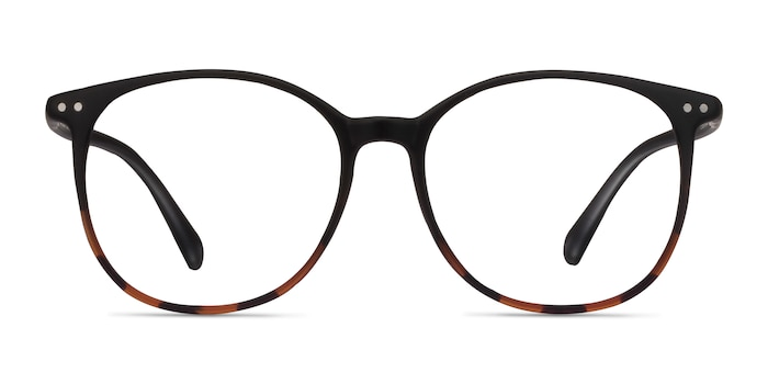 Lucia Black Tortoise Plastic Eyeglass Frames from EyeBuyDirect