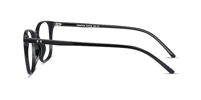 Trenton Black Plastic Eyeglass Frames from EyeBuyDirect