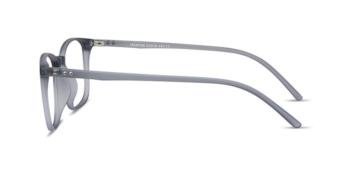Trenton Gray Plastic Eyeglass Frames from EyeBuyDirect