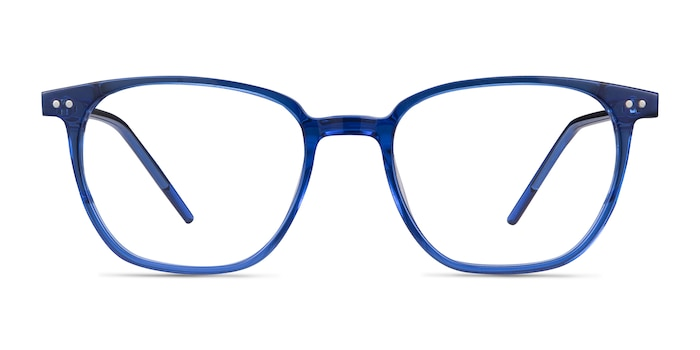 Regalia Blue Acetate Eyeglass Frames from EyeBuyDirect