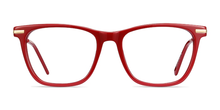 Sebastian Burgundy Acetate-metal Eyeglass Frames from EyeBuyDirect