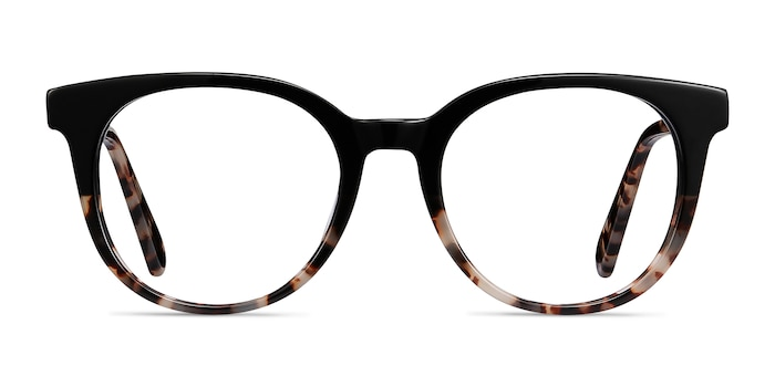 Rialto Black Tortoise Acetate Eyeglass Frames from EyeBuyDirect