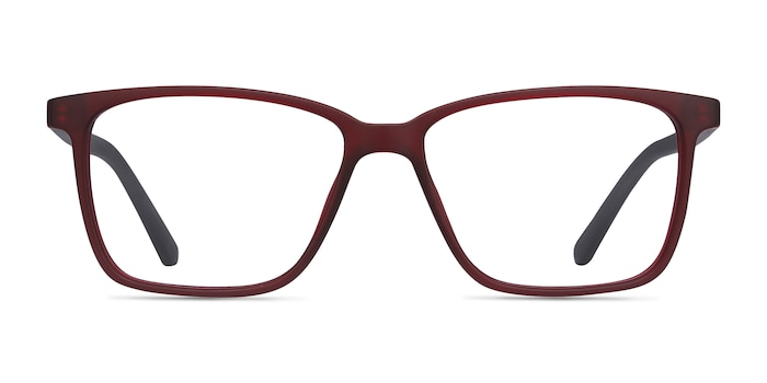 Alaska Red Plastic Eyeglass Frames from EyeBuyDirect