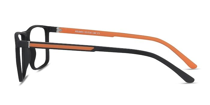 Holmes Black Plastic Eyeglass Frames from EyeBuyDirect