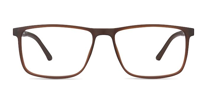 Holmes Brown Plastic Eyeglass Frames from EyeBuyDirect