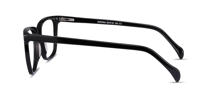Girona Black Acetate Eyeglass Frames from EyeBuyDirect