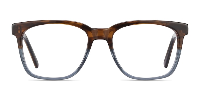 Jamie Brown Striped Acetate Eyeglass Frames from EyeBuyDirect