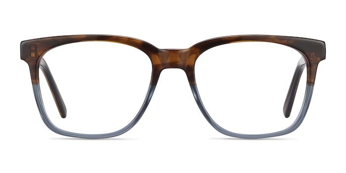 Jamie Brown Striped Acetate Eyeglass Frames from EyeBuyDirect