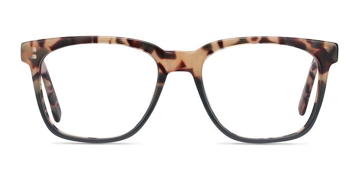 Jamie Tortoise & Green Acetate Eyeglass Frames from EyeBuyDirect