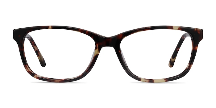 Ayla Tortoise Acetate Eyeglass Frames from EyeBuyDirect