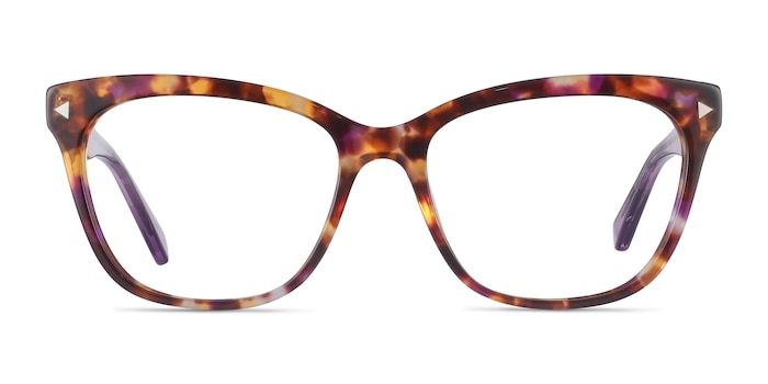 Petal Purple Tortoise Acetate Eyeglass Frames from EyeBuyDirect
