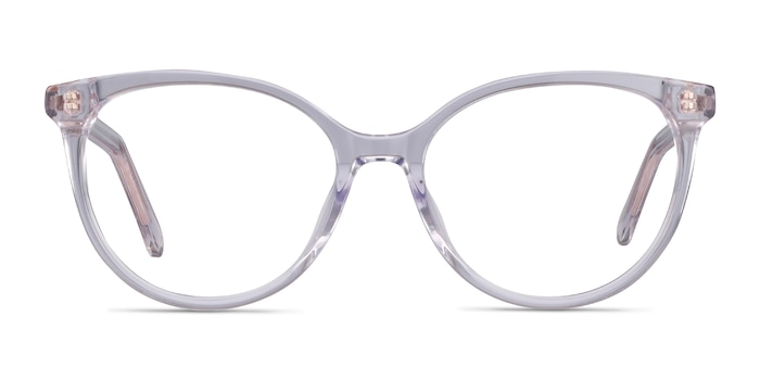 Nala Clear Acetate Eyeglass Frames from EyeBuyDirect
