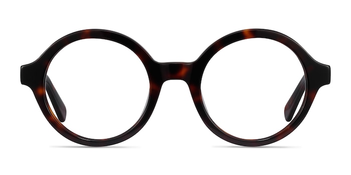 Groove Tortoise Acetate Eyeglass Frames from EyeBuyDirect