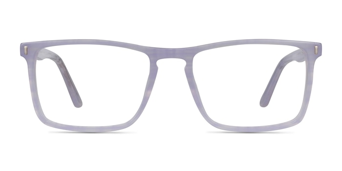 Arise Purple Striped Acetate Eyeglass Frames from EyeBuyDirect