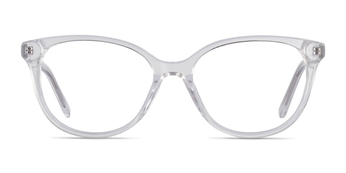 Pursuit Clear Acetate Eyeglass Frames from EyeBuyDirect