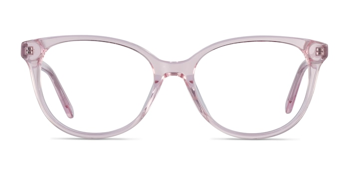 Pursuit Pink Acetate Eyeglass Frames from EyeBuyDirect