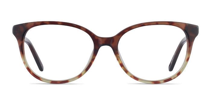 Pursuit Tortoise Acetate Eyeglass Frames from EyeBuyDirect