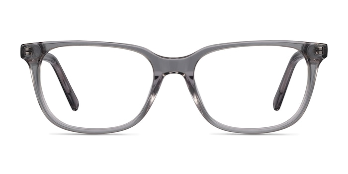 Peruse Clear Gray Acetate Eyeglass Frames from EyeBuyDirect
