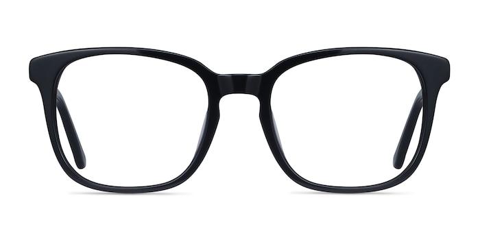 Tower Black Acetate Eyeglass Frames from EyeBuyDirect