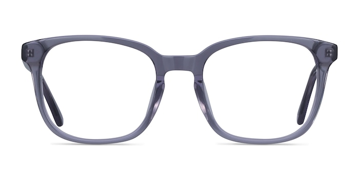 Tower Gray Acetate Eyeglass Frames from EyeBuyDirect