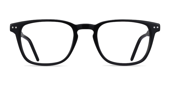 Illustrate Black Acetate Eyeglass Frames from EyeBuyDirect