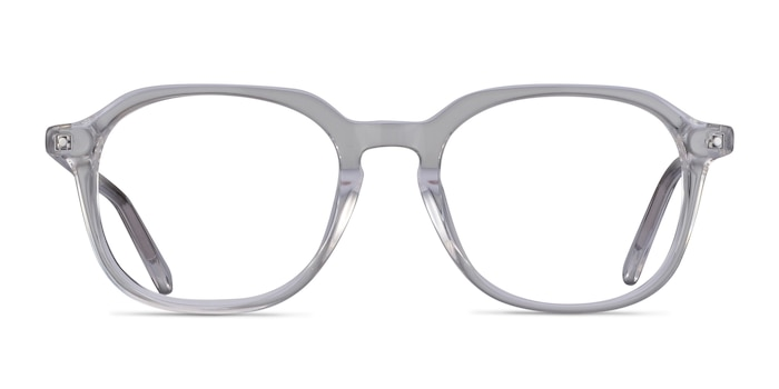 Atlantic Clear Acetate Eyeglass Frames from EyeBuyDirect