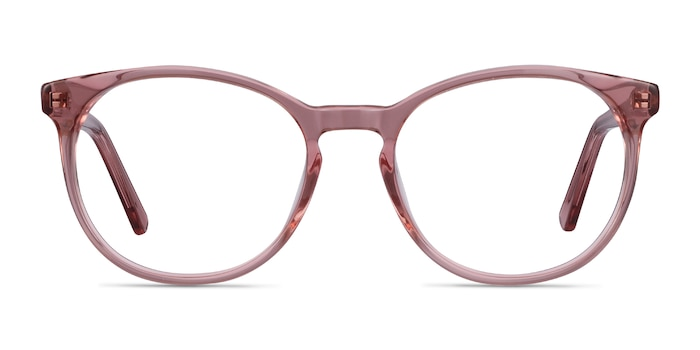 Dulce Pink Acetate Eyeglass Frames from EyeBuyDirect