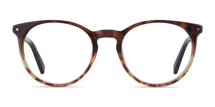 Fleury Brown Floral Acetate Eyeglass Frames from EyeBuyDirect