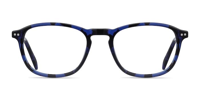 Socorro Blue Tortoise Acetate Eyeglass Frames from EyeBuyDirect