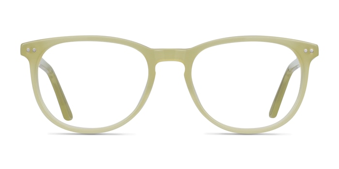 Cherbourg Lime Green Acetate Eyeglass Frames from EyeBuyDirect
