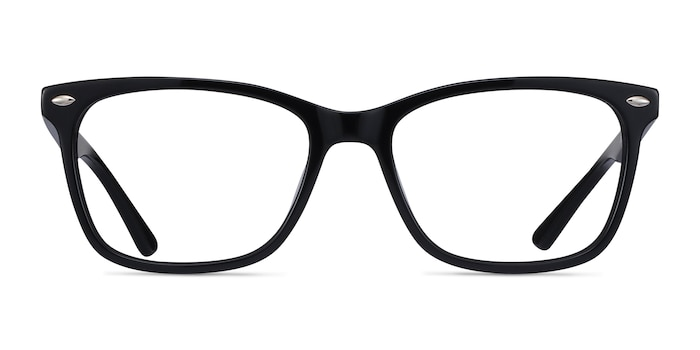 Varda Black Acetate Eyeglass Frames from EyeBuyDirect