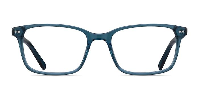 Basel Green Blue Acetate Eyeglass Frames from EyeBuyDirect