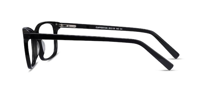 Clipperton Black Acetate Eyeglass Frames from EyeBuyDirect